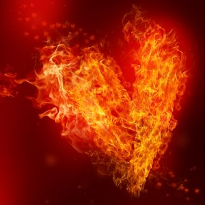 Heart fire smaller